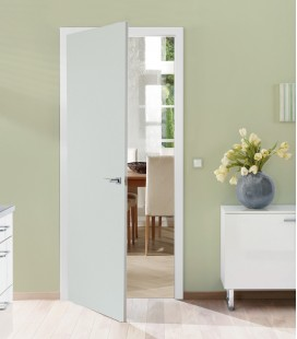 Light Grey FD30 Doors - Light Grey Finish