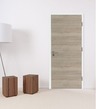 Sand Oak Crosswise Fire Rated Door