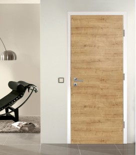 Knotty Oak Fire Doors - Horizontal Grain
