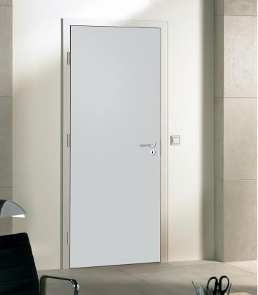 Light Grey Matte Doors - Fire Rated Doors