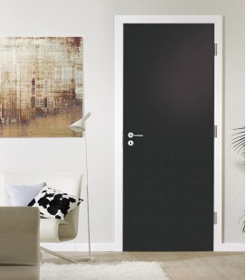 Black Matte Fire Rated Door