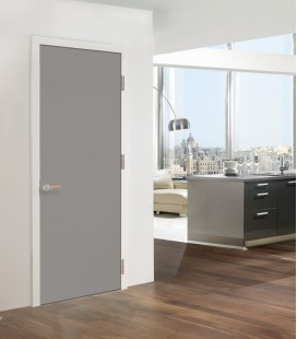 Grey Interior FD30 Doors - Cement Finish RAL7004