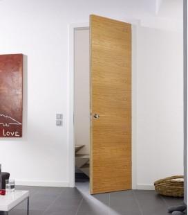 Oak Real Wood Veneer Fire Rated Door