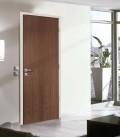 Walnut Real Wood Veneer Fire Rated Door