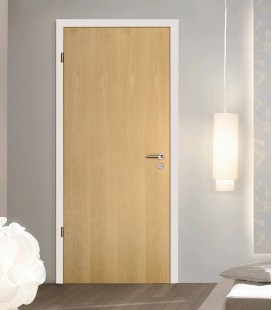 Maple Real Wood Veneer Fire Rated Door