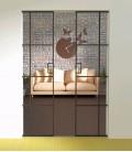 Pocket Double Doors with 4 Metal Profiles