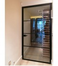 The Pyro Industrial Style Single Hinged Door - Stock