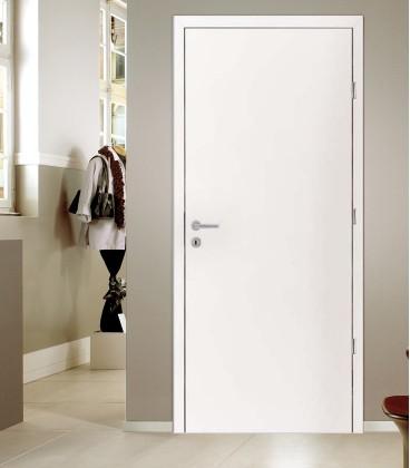 White RAL9016 Fire Doors - Interior Doors Stock